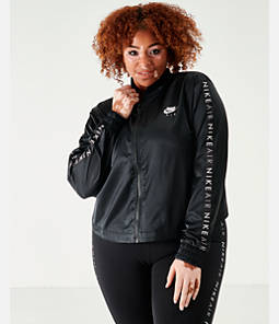 Women's Nike Air Satin Jacket - Plus Size