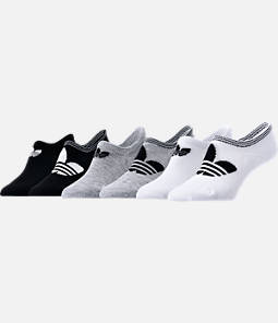Women's adidas Originals 6-Pack Footie Socks