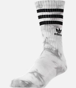 Men's adidias Originals Tie Dye Roller Crew Socks