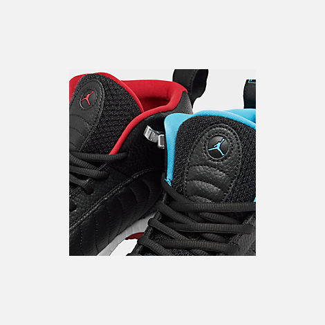 0c6d03364def Front view of Men s Air Jordan Jumpman Pro Basketball Shoes in Black Gym  Red