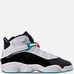 Boys' Big Kids' Jordan 6 Rings Basketball Shoes