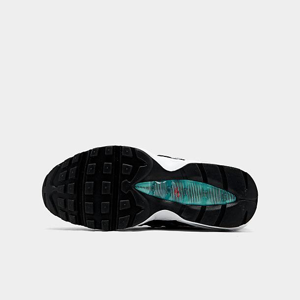 Nike Air Max 95 609048 092 All Black Running Sneaker Free Shipping