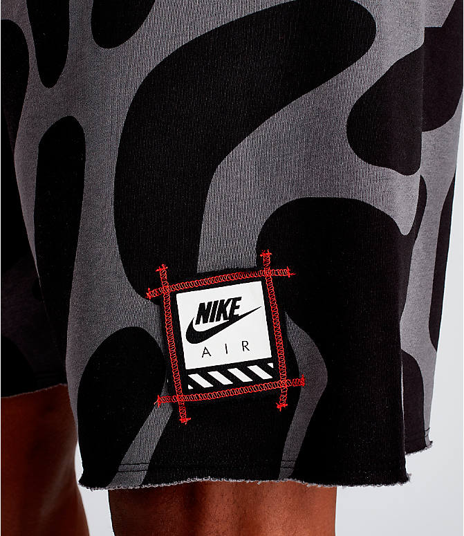 Detail 2 view of Men's Nike Sportswear Gel Retro Future Shorts in Black