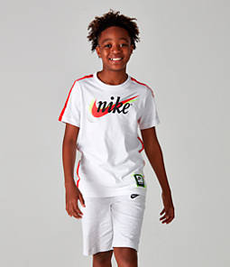 Boys' Nike Sportswear Retro Future Tape T-Shirt