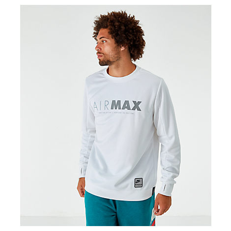 Air Sportswear Size Men's Small SweatshirtWhite Max Crew dtQCrsh