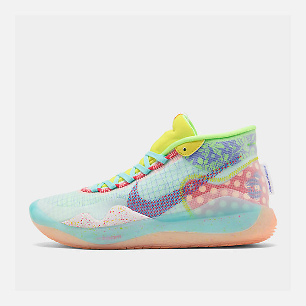 4f051763ac48a Right view of Boys' Big Kids' Nike Zoom KD12 Basketball Shoes in Bright  Multi