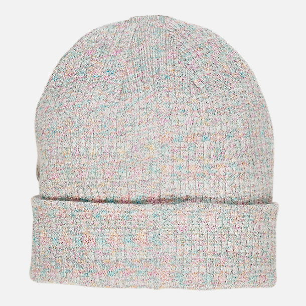 Alternate view of Women's adidas Originals Wide Rib Beanie in Clear Grey/White/Multi