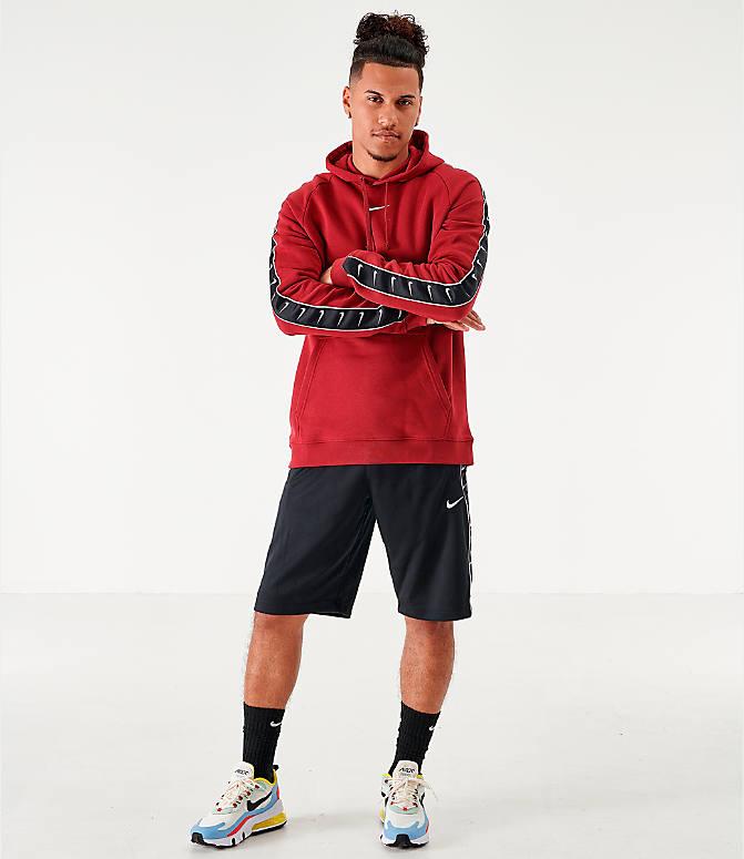 Men's Nike Sportswear Swoosh Tape Fleece Hoodie