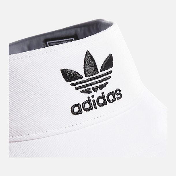 ca2b6da9 Alternate view of adidas Originals Twill Visor in White/Black