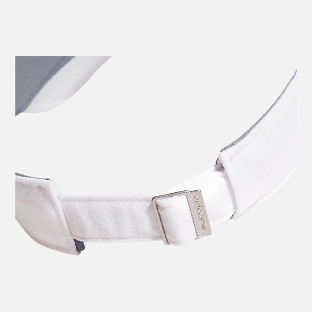 Alternate view of adidas Originals Twill Visor in White/Black
