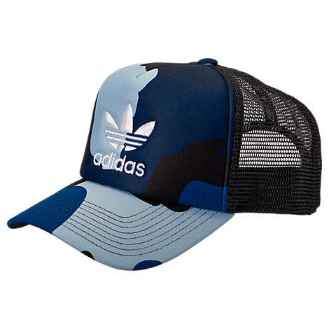 8076c4dcb586d Adidas Originals Originals Foam Trucker Snapback Hat