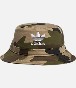 adidas Originals Camo Allover Print Bucket Hat
