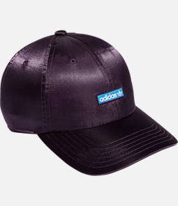 Women's adidas Originals Precurved Relaxed Fit Metallic Strapback Hat