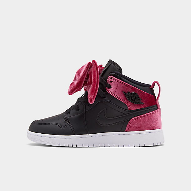 new specials authorized site sale usa online Girls' Big Kids' Air Jordan 1 Mid Bow Casual Shoes