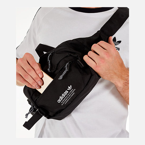 Alternate view of adidas Originals Utility Crossbody Waist Pack in Black