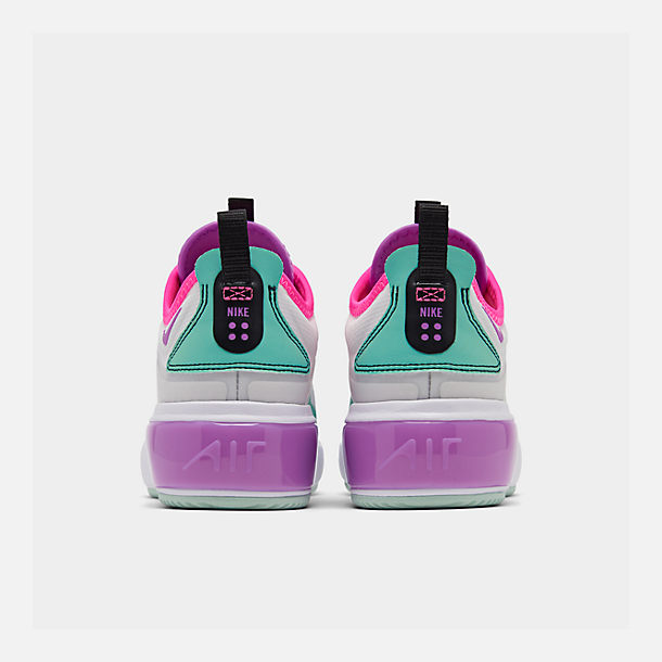 Left view of Women's Nike Air Max DIA Casual Shoes in Platinum Tint/Bright Violet/Black
