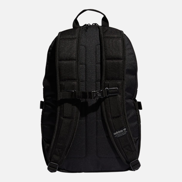 Back view of adidas Originals Bungee Backpack in Black