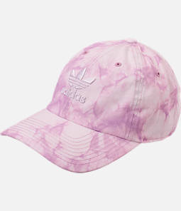 Women's adidas Originals Precurved Washed Strapback Hat