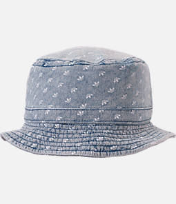 adidas Originals Denim Allover Print Bucket Hat