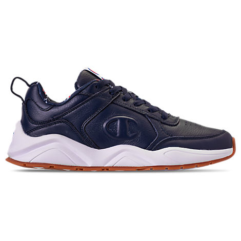 Champion MEN'S CHAMPION 93EIGHTEEN LEATHER CASUAL SHOES, BLUE