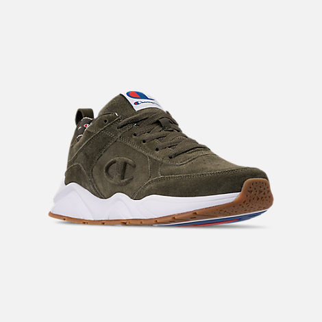 Three Quarter view of Men's Champion 93Eighteen Casual Shoes in Hiker Geen