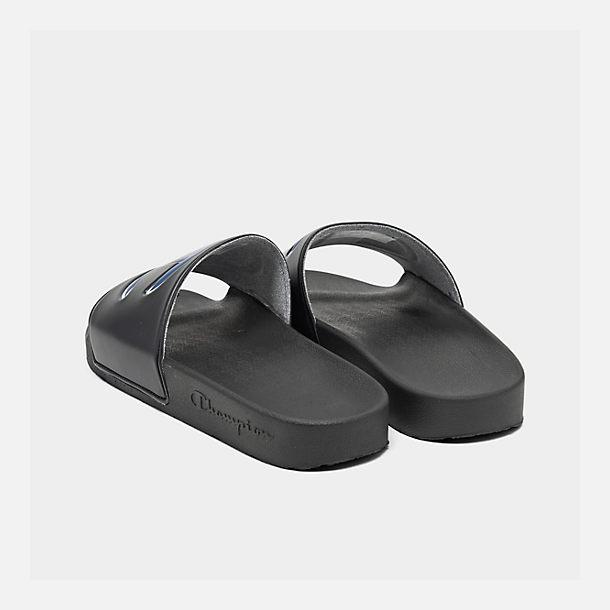f31495c9e40 Left view of Men s Champion IPO Slide Sandals in Black