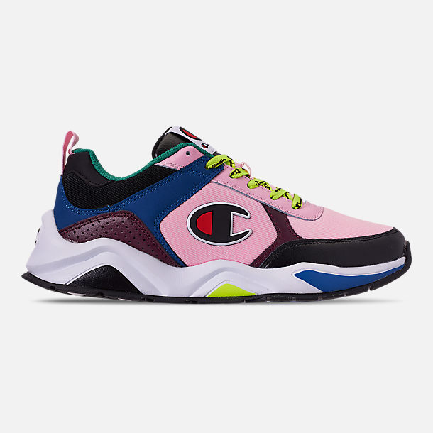 b4f66736ef4a6 Right view of Men s Champion 93Eighteen Casual Shoes in Pink Multi