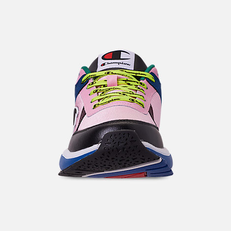 e3762beeb8a Front view of Men s Champion 93Eighteen Casual Shoes in Pink Multi