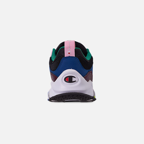f618d9f17b3 Back view of Men s Champion 93Eighteen Casual Shoes in Pink Multi