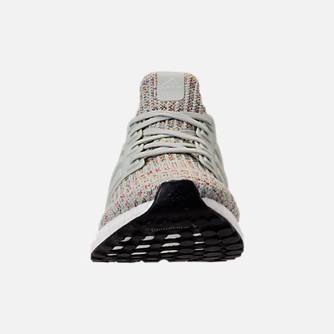 quality design 97e63 4133f Front view of Men s adidas UltraBOOST Running Shoes in Ash Silver Carbon Core  Black