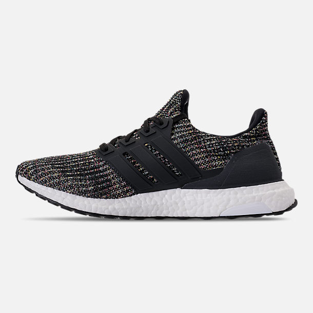 Left view of Men's adidas UltraBOOST Running Shoes in Core Black/Carbon/Ash Silver
