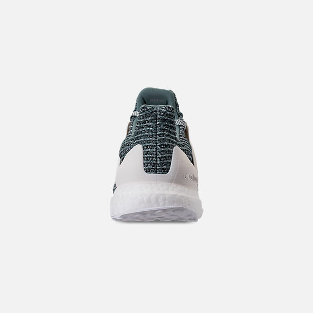 596f3c2ea Back view of Men s adidas UltraBOOST x Parley Running Shoes in Ocean Blue  White