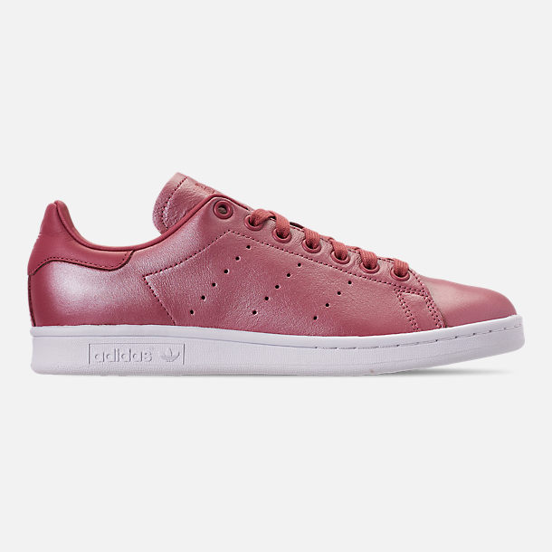 Right view of Women's adidas Originals Stan Smith Casual Shoes in Trace Maroon