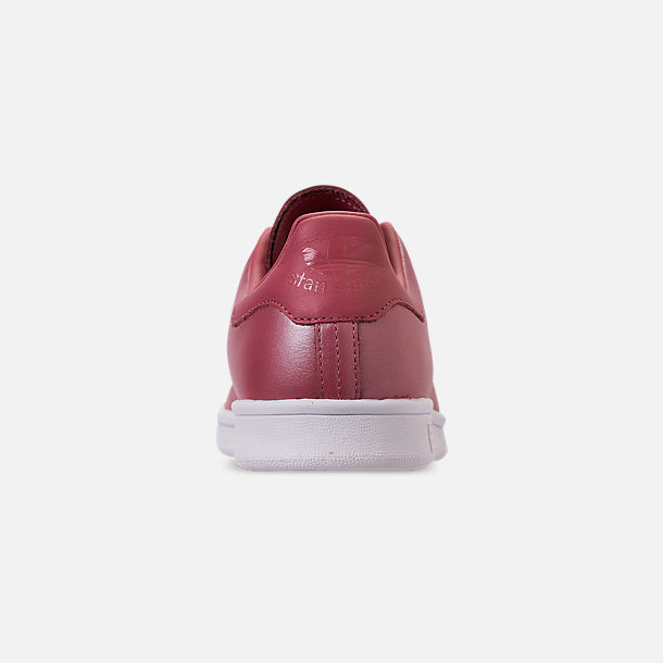 Back view of Women's adidas Originals Stan Smith Casual Shoes in Trace Maroon