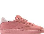 Women's Reebok Club C 85 Nubuck Casual Shoes