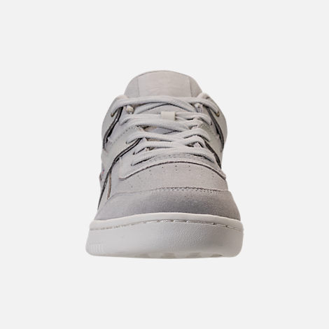 Front view of Men's Reebok Workout Plus MCC Casual Shoes in Marble/Chalk