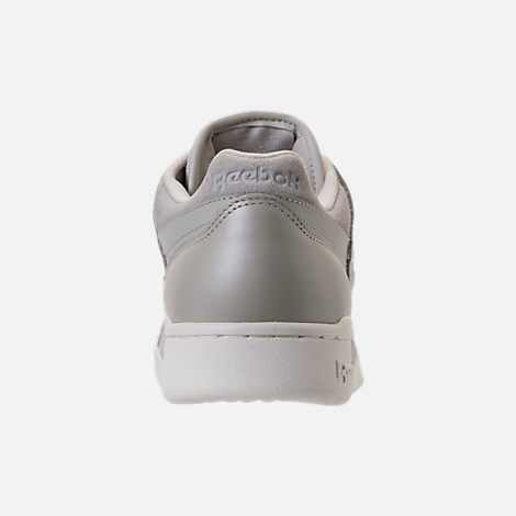 Back view of Men's Reebok Workout Plus MCC Casual Shoes in Marble/Chalk
