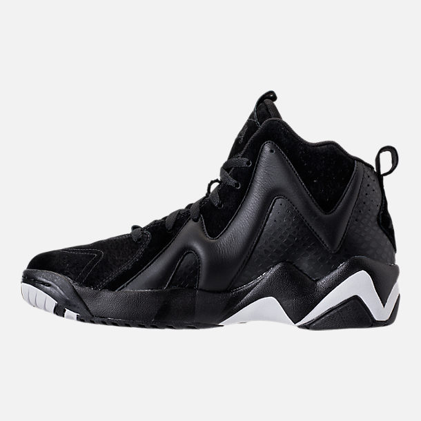 Left view of Men's Reebok Kamikaze II ATL-LAX Casual Shoes in Black/White