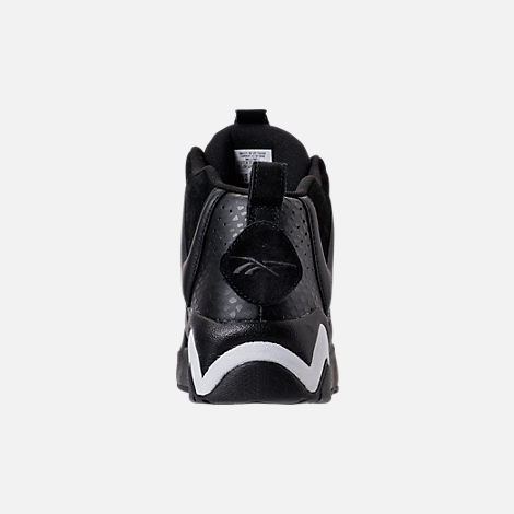 Back view of Men's Reebok Kamikaze II ATL-LAX Casual Shoes in Black/White