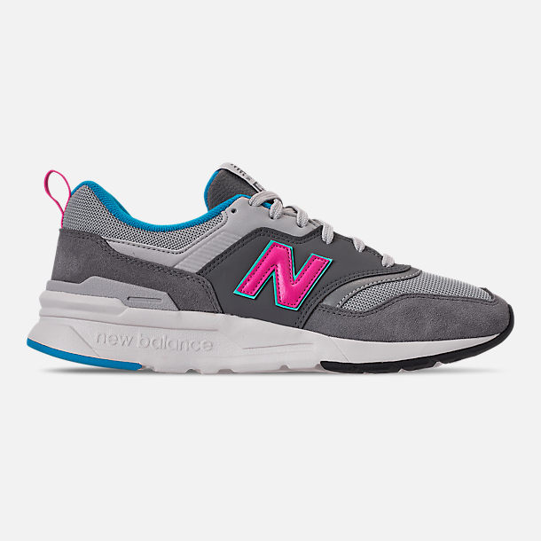 Right view of Men's New Balance 997H Casual Shoes in Castlerock/Peony