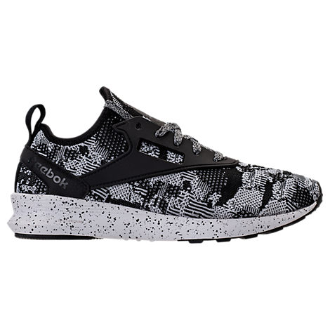 Reebok Men S Zoku Runner Hm Casual Sneakers From Finish Line In Black 6c8ae16d0