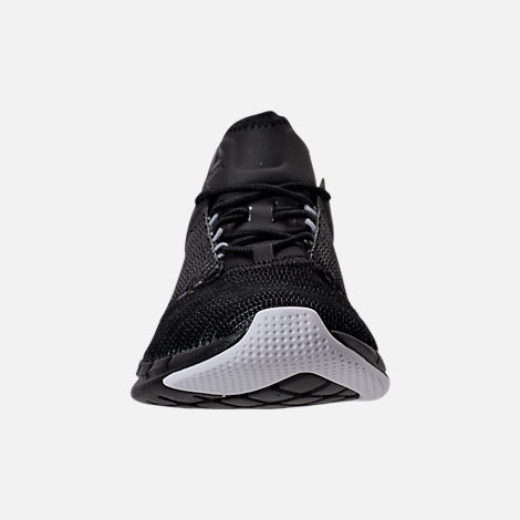 Front view of Women's Reebok Flexweave Run Running Shoes in Black