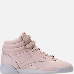 Girls' Grade School Reebok Freestyle Hi Muted Casual Shoes