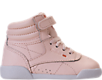 Girls' Toddler Reebok Freestyle Hi Muted Casual Shoes