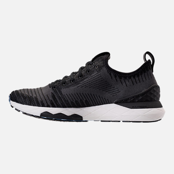 Left view of Women's Reebok Floatride Run 6000 Running Shoes in Black/Coal/White