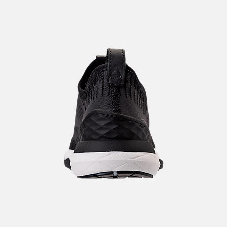 Back view of Women's Reebok Floatride Run 6000 Running Shoes in Black/Coal/White