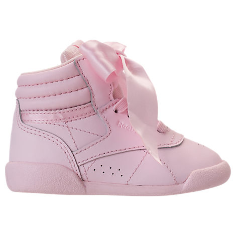 e0635bb4 Girls' Toddler Freestyle Hi Satin Bow Casual Shoes, Pink