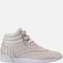 Women's Reebok Freestyle Hi Crackle Casual Shoes