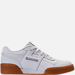 Boys' Grade School Reebok Classics Workout Plus Casual Shoes