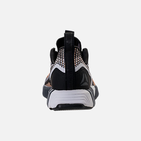 Back view of Women's Reebok Fusion Flexweave Training Shoes in Black/Desert Glow/White